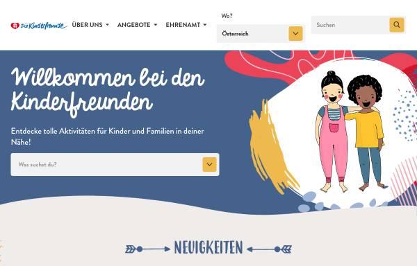 Vorschau von www.kinderfreunde.at, Kinderfreunde