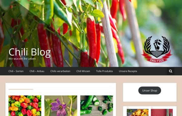 Vorschau von www.chili-blog.de, Chili-Blog