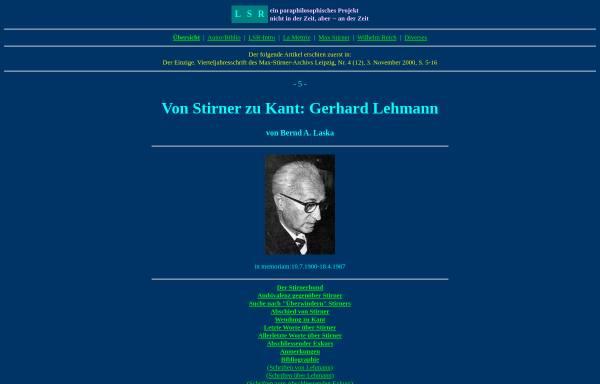 Vorschau von www.lsr-projekt.de, Lehmann, Gerhard
