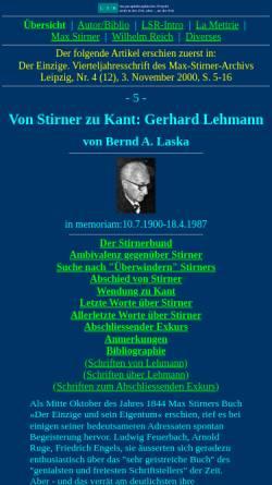 Vorschau der mobilen Webseite www.lsr-projekt.de, Lehmann, Gerhard