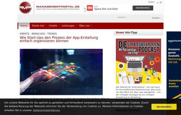 Vorschau von www.themanagement.de, Themanagement.de by Recklies Management Project GmbH