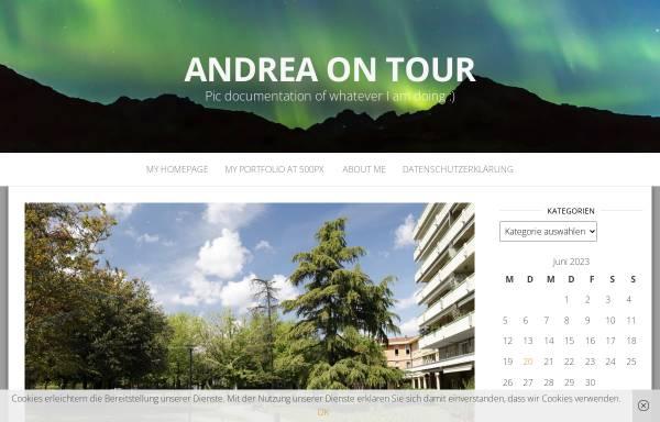 Vorschau von www.andreaontour.de, Andrea on Tour [Andrea Klug]