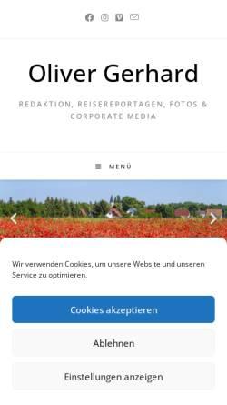 Vorschau der mobilen Webseite www.foto-reportage.de, Foto-Reportage [Oliver Gerhard]