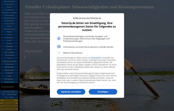 Vorschau von www.fototrip.de, Fotos - Reisen - Urlaub [Jörg Kemmler]