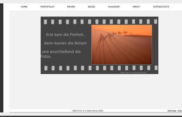 Vorschau von www.koeves.mynetcologne.de, 1001 Fotos [Georg Köves]