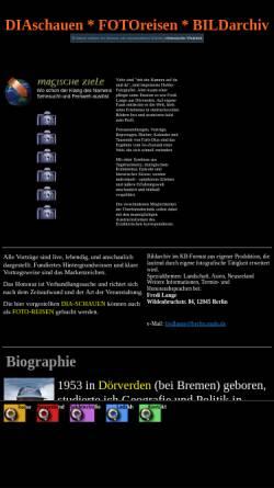 Vorschau der mobilen Webseite home.snafu.de, Magische Ziele [Fredi Lange]