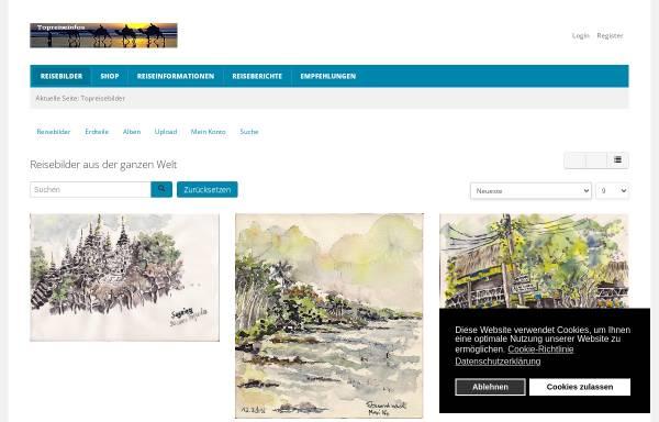 Vorschau von www.topreisebilder.com, Top Reisebilder [Willi Schnitzler]