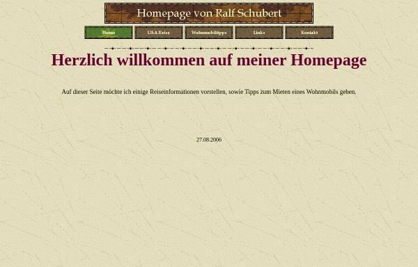 Vorschau von www.schubertshomeworld.de, USA Reise [Ralf Schubert]