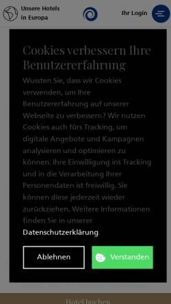 Vorschau der mobilen Webseite www.wellnessplus.ch, Wellness Plus