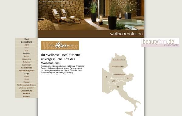 Vorschau von www.wellness-hotel.de, Wellness-Hotels