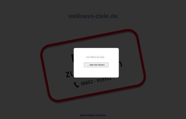 Vorschau von www.wellness-ziele.de, Wellness-Ziele