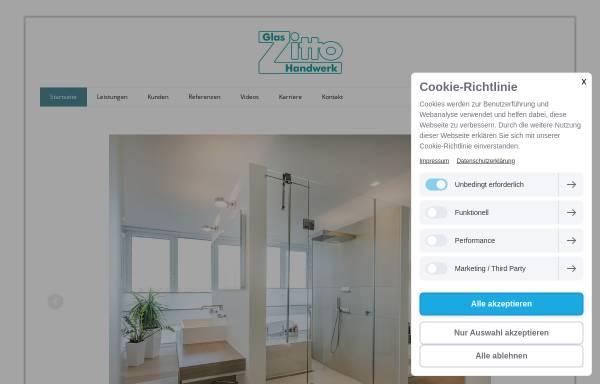 Vorschau von www.glas-zitto.de, Glas Zitto GmbH