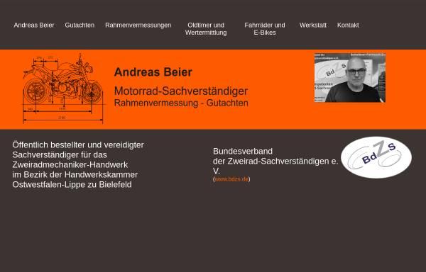 Vorschau von www.zab-triumph.de, Andreas Beier Zweiradtechnik