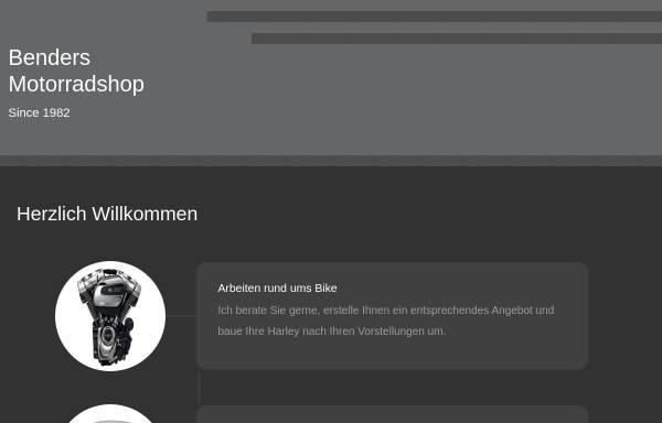 Vorschau von www.benders-motorradshop.de, Benders Motorradshop