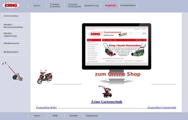 Vorschau von www.ering.de, Ering GmbH