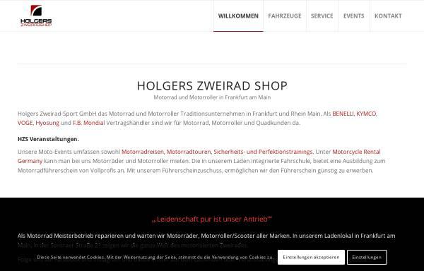 Vorschau von www.holgers-zweirad-shop.de, Holgers Zweirad-Shop GmbH