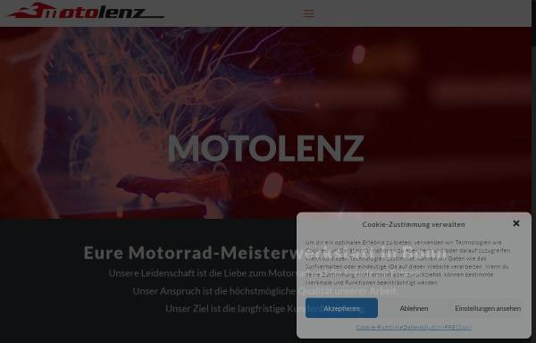 Vorschau von www.motolenz.de, Motolenz Zweiradtechnik