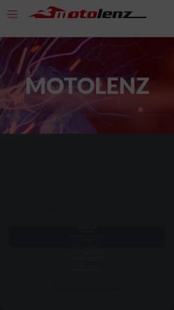Vorschau der mobilen Webseite www.motolenz.de, Motolenz Zweiradtechnik