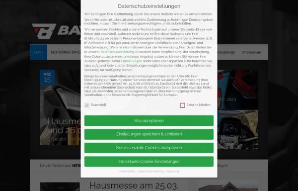 Vorschau von www.motorrad-bayer.de, Motorrad Bayer