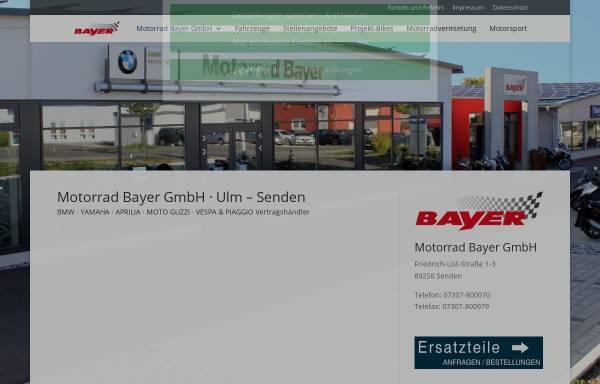 Vorschau von www.motorrad-bayer-gmbh.de, Motorrad Bayer GmbH