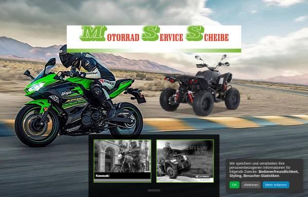 Vorschau von www.ms-scheibe.de, Motorrad Service Scheibe