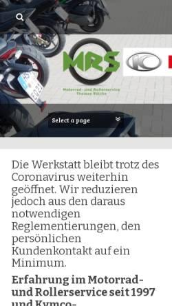 Vorschau der mobilen Webseite www.motorrad-total-hst.de, Motorrad Total