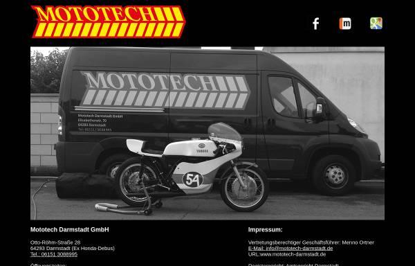 Vorschau von www.mototech-griesheim.de, Mototech