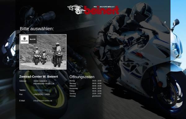 Vorschau von www.beinert-online.de, Zweirad-Center Wilfried Beinert