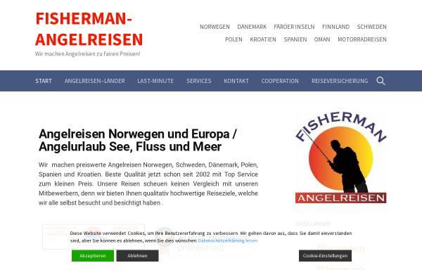 Vorschau von fisherman-angelreisen.de, Fisherman Angelreisen, Peter Röhrchen