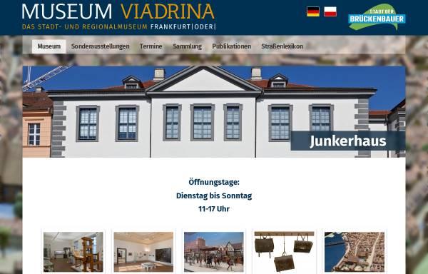 Vorschau von www.museum-viadrina.de, Museum-Viadrina