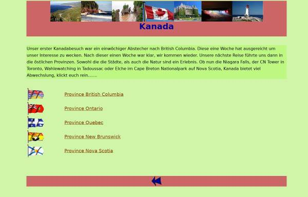 Vorschau von www.arizonas-world.de, Kanada - Der Westen [Holger Quast]