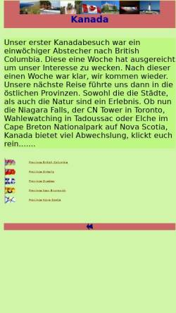 Vorschau der mobilen Webseite www.arizonas-world.de, Kanada - Der Westen [Holger Quast]