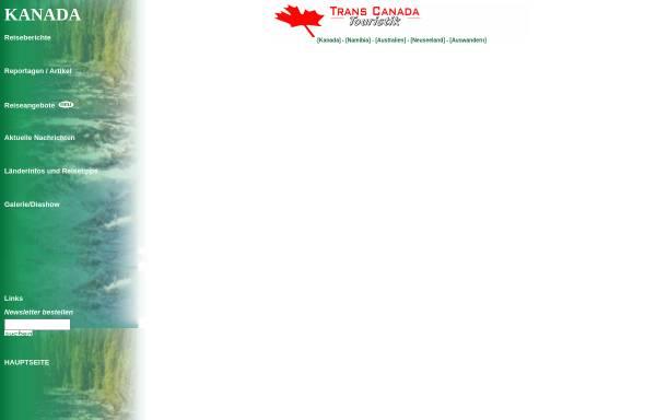 Vorschau von www.fernweh-pur.de, Mit dem Camper durch Kanadas Westen [Andrea Budde & Stefan Brixner]