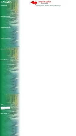 Vorschau der mobilen Webseite www.fernweh-pur.de, Mit dem Camper durch Kanadas Westen [Andrea Budde & Stefan Brixner]