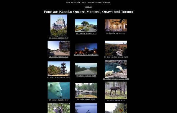 Vorschau von www.50links.de, Reisefotos aus Kanada