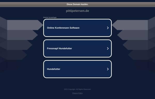 Vorschau von pittipetersen.de, Petersen, Klaus-Dieter