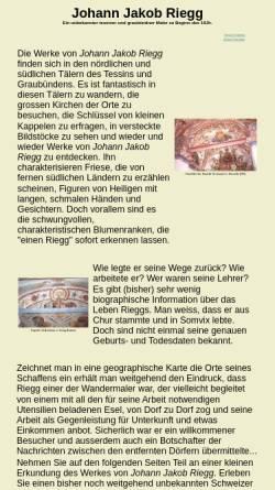 Vorschau der mobilen Webseite www.vallediblenio.ch, Riegg, Johann Jakob