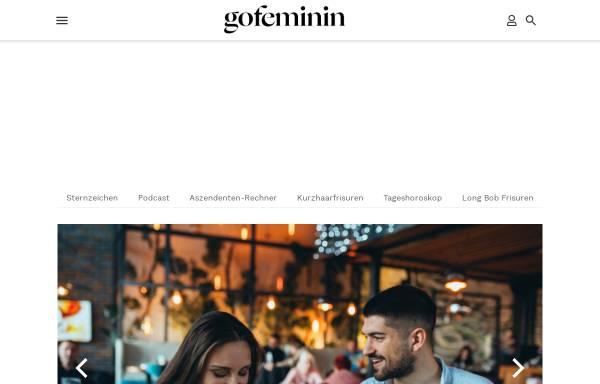 Vorschau von www.gofeminin.de, GoFeminin