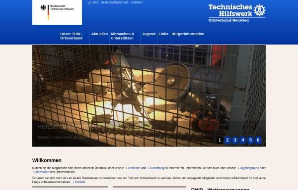 Vorschau von www.thw-neuwied.de, Bundesanstalt Technisches Hilfswerk - Ortsverband Neuwied