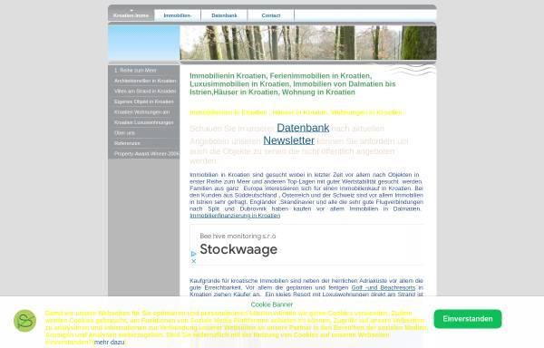 Vorschau von www.kroatien-immobilien.biz, Albrecht-Immobilien-International