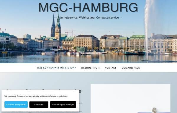 Vorschau von www.mgc-hamburg.de, Marcus Gliewe Computerservice