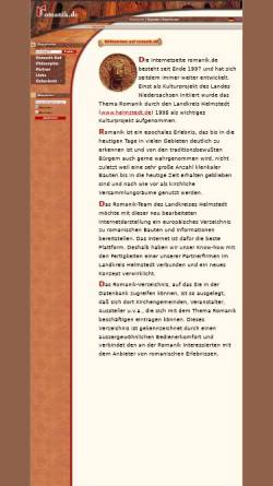 Vorschau der mobilen Webseite www.romanik.de, Romanik zwischen Elm und Elbe