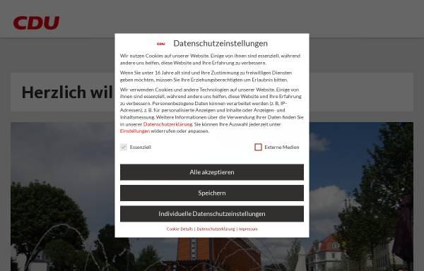 Vorschau von www.cdu-bad-salzuflen.de, CDU Bad Salzuflen
