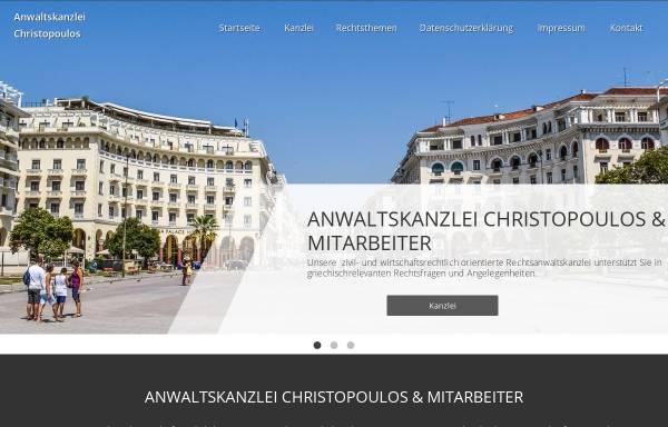 Vorschau von www.christopoulos.de, Christopoulos & Kollegen