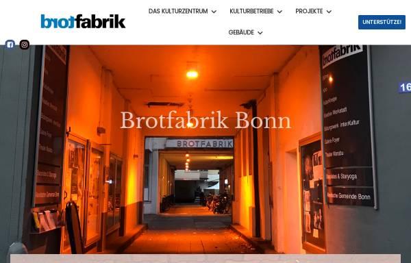Vorschau von www.brotfabrik-bonn.de, Brotfabrik Bonn-Beuel