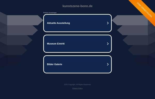 Vorschau von www.kunstszene-bonn.de, kunstszene-bonn.de