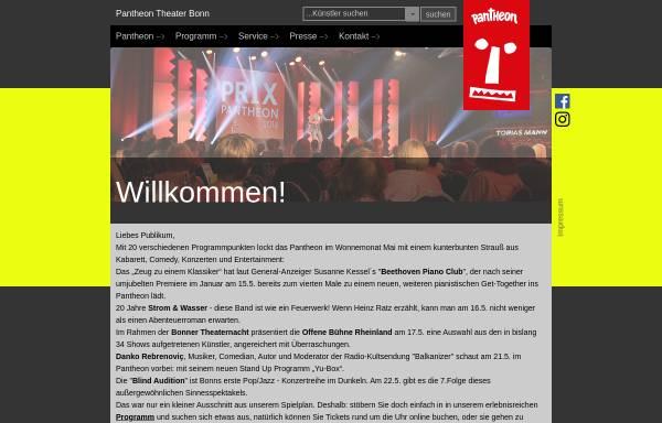 Vorschau von www.pantheon.de, Pantheon