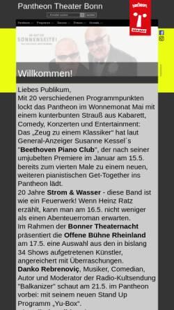 Vorschau der mobilen Webseite www.pantheon.de, Pantheon