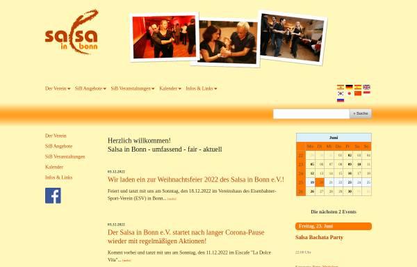 Vorschau von www.salsainbonn.de, Salsa In Bonn e.V.