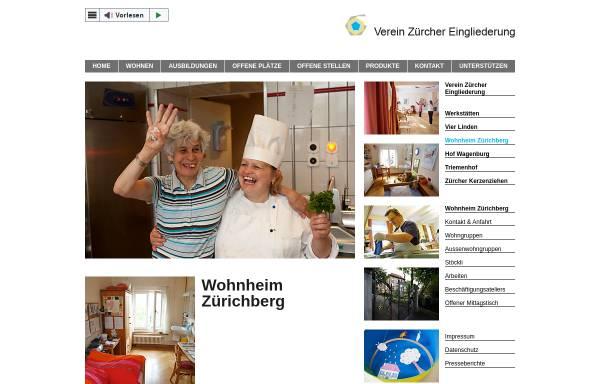 Vorschau von www.wohnheim-zuerichberg.ch, Wohnheim Zürichberg